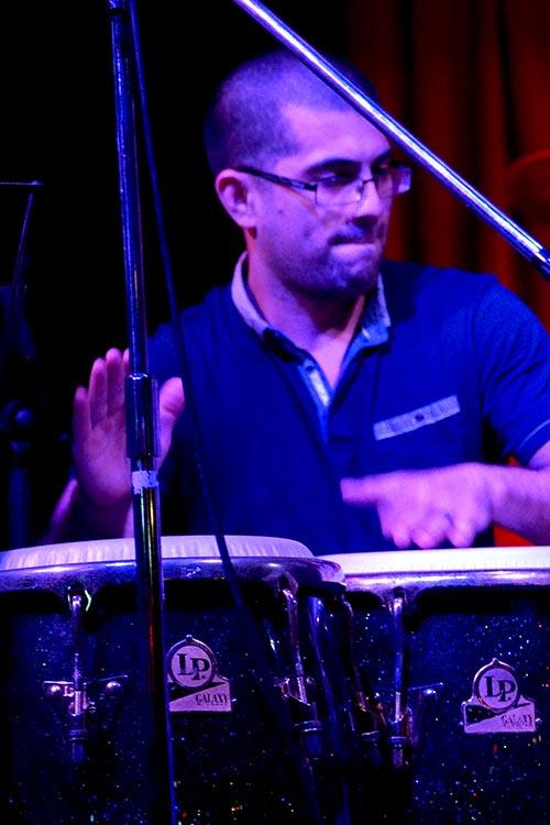 Giorgio Rojas – Percussion