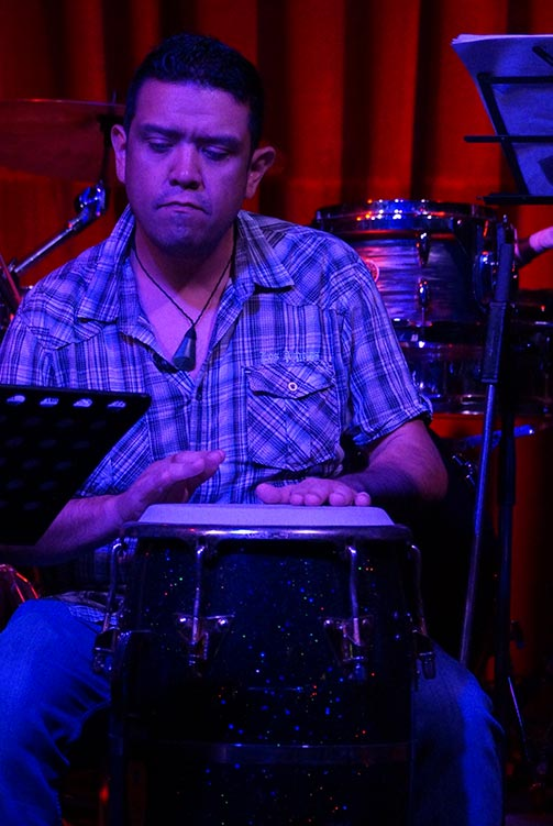 Steve Marin – Percussion